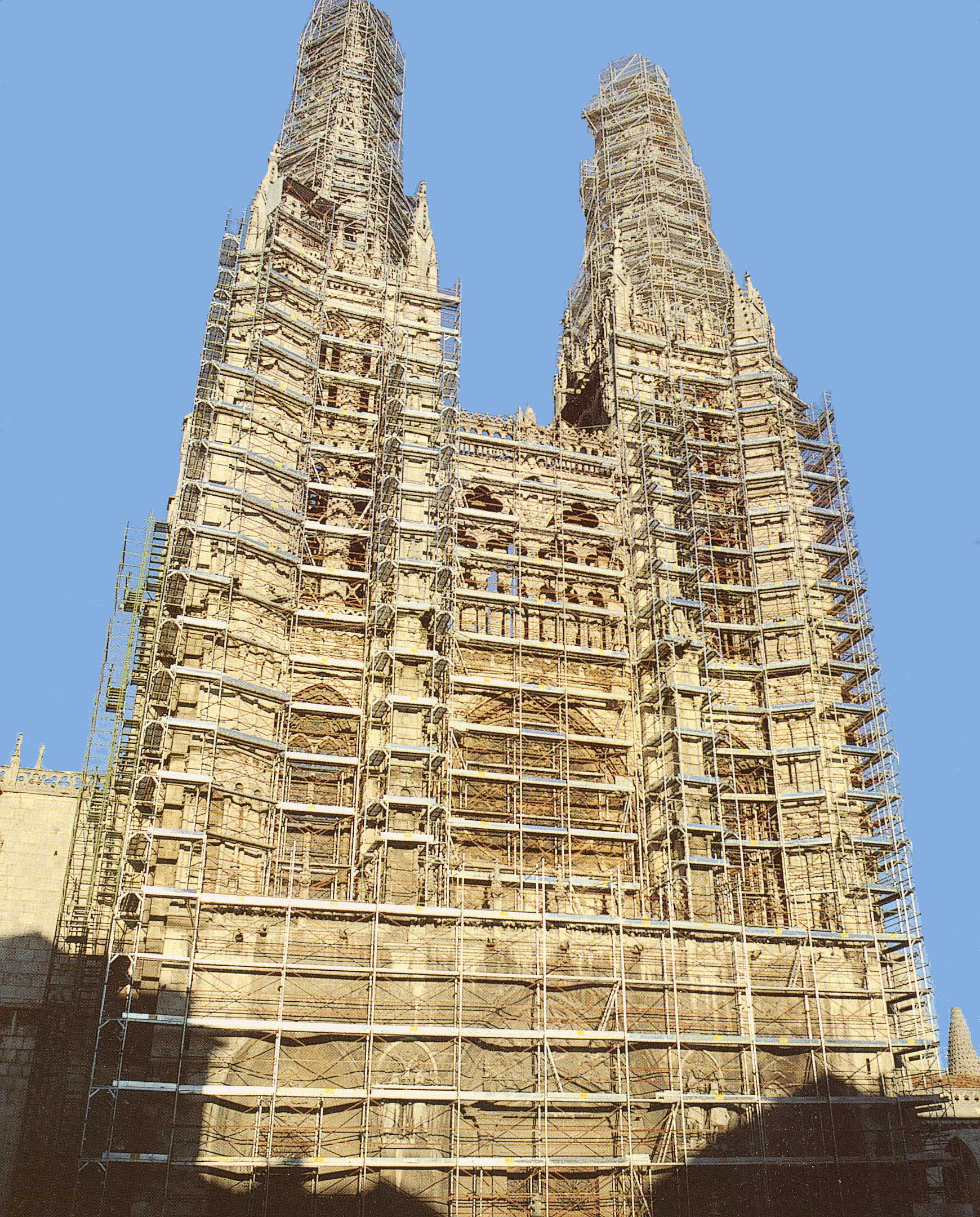 Andamio Catedral Burgos