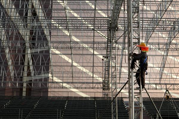 Andamios para la construcción en Madrid